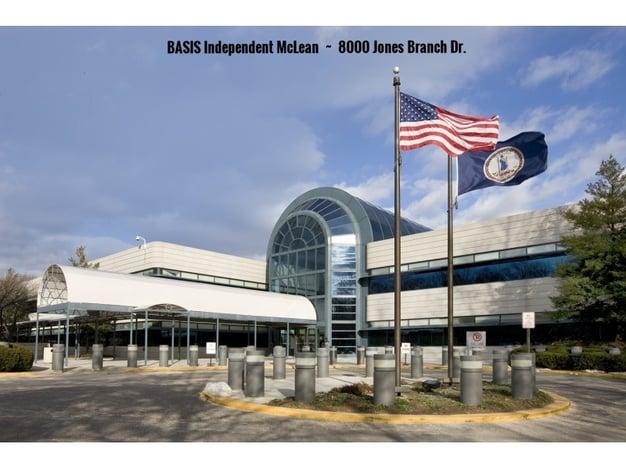BASIS Independent McLean at 8000 Jones Branch Dr.