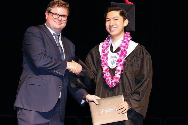 Ethan Graduating
