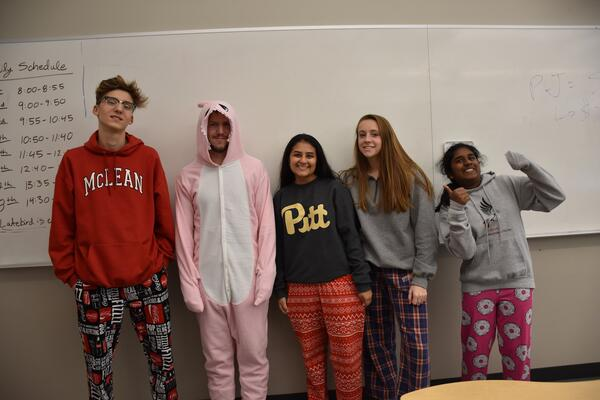 Spirit Week 2018 PJ Day (2)