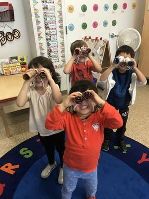 PreK binoculars