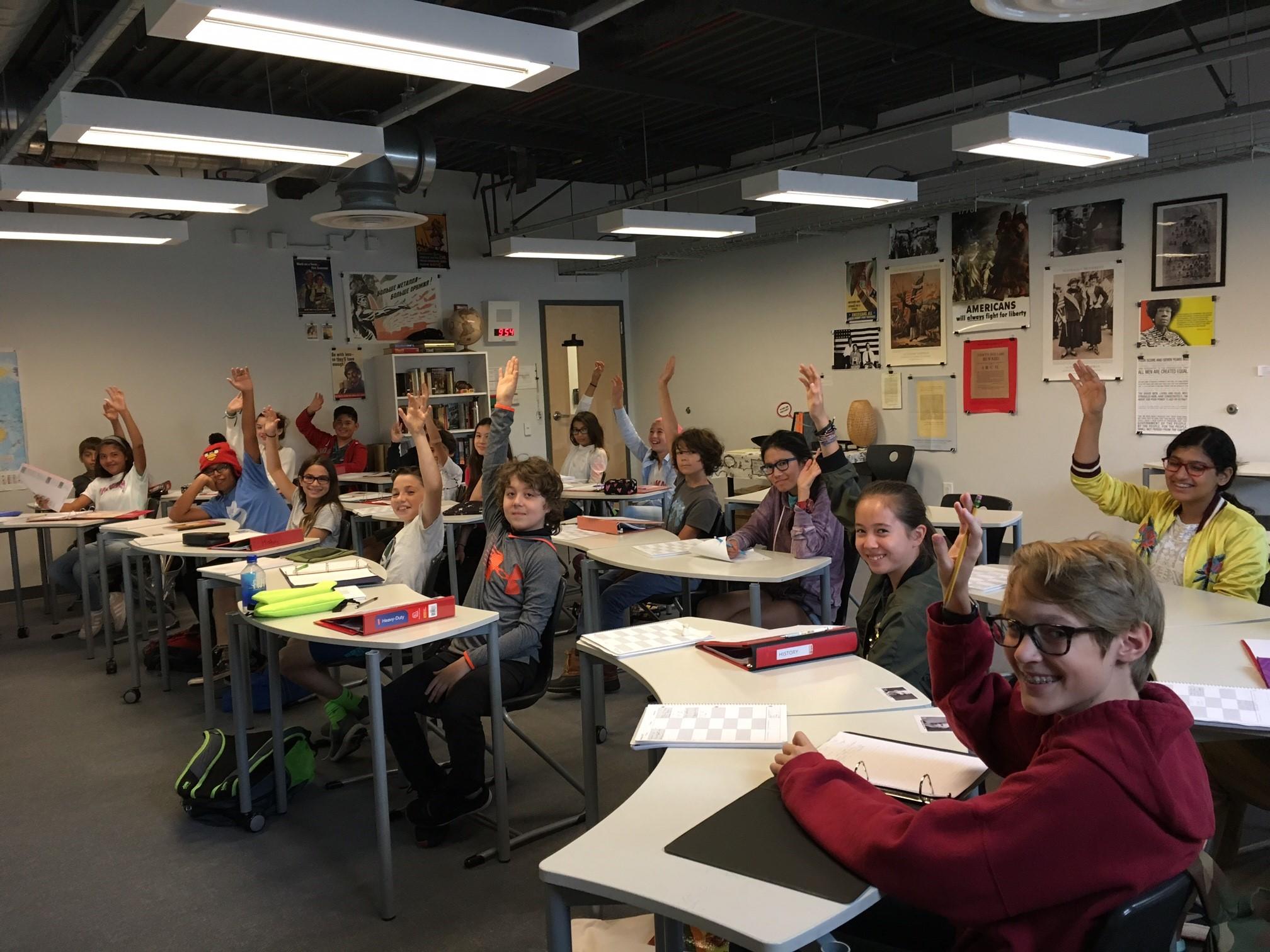 goldman history class excitement-3.jpg