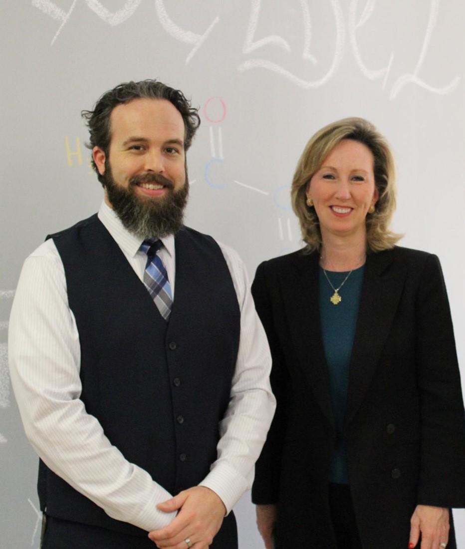 Sean Aiken and Barbara Comstock